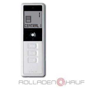 Simu Hz Funk 16-Kanal Émetteur Portatif Interrupteur Moteur Volet Roulant, Blanc