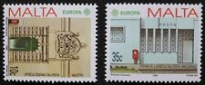 Europa, Post Office buildings stamps, 1990, Malta, SG ref: 864 & 865, MNH
