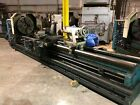 """35"""" X 160"""" CLAUSING HOLLOW SPINDLE GAP BED ENGINE LATHE: YODER #73017"""