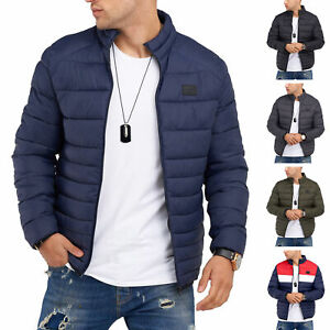 Jack & Jones Herren Infinity Übergangsjacke Steppjacke Leichte Jacke Streetwear