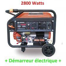 Groupe electrogene demarrage electrique 2800w - DAEWOO GDA 3300E
