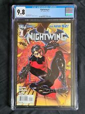 NIGHTWING #1 New 52! CGC 9.8 DC COMICS 2011