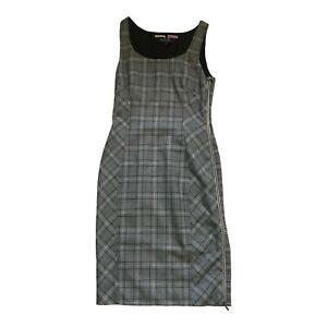 Paul Smith Ladies Grau Kariertes Kleid