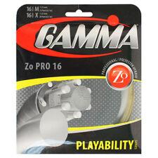 Gamma Zo Pro 16 Gauge Playability Series Tennis String M 1.25mm X 1.32mm