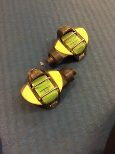 Time EX Carbon Clipless Mountain Bike Pedals. Single Sided