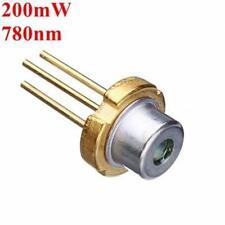 Diodo laser 3,3 millimetri 780nm 200mW laser a infrarossi IR CONSEGNA RAPIDA