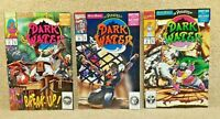 Vintage 1992 Marvel Comic Lot Pirates of Dark Water #3 - 4 - 6 Hanna Barbera