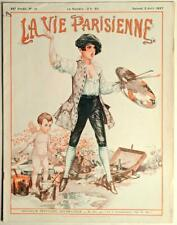 La Vie Parisienne - April 2, 1927 - Rare Risque French Magazine; Art Deco FVF