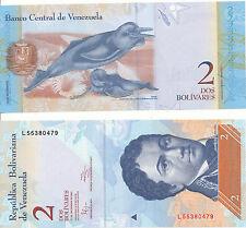 VENEZUELA - 2 BOLIVARES 27. 12. 2012 UNC pick 88e