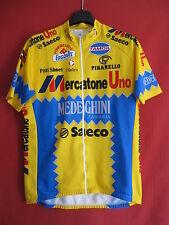 Maillot cycliste Mercatone Uno Medeghini 1994 Saeco Nalini vintage - 5
