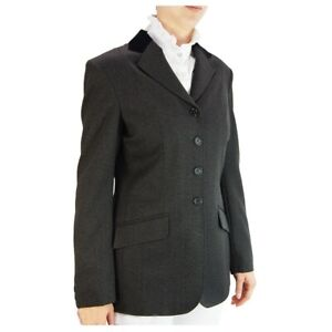 "Ladies 42"" Caldene Lorient Show Jacket Charcoal - WAS £67.20"