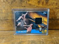 2017 Topps WWE Then Now Forever Mat Relic Tye Dillinger Blue /50 AEW Shawn Spear