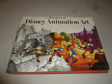 Treasures Of Disney Animation Book Hardcover Art Collectible 1St Ed 4Th Print >>