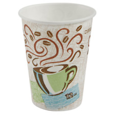 Dixie Perfectouch Insulated Paper Cups Coffee Haze 12oz 176 Count