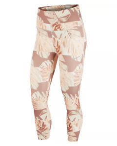 Nike Tights Womens Small Authentic New Dry Run Fast Cropped Running Pink Floral