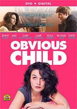 Obvious Child Jenny Slate Jake Lacy Polly Draper (DVD, 2014) WS  No Digital