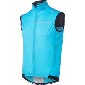 Color:Negro,Size:M StepX Chaleco de Ciclismo Vest de Viento Reflectante A Prueba de Cycling para Hombre Correr Ligero Deporte Al Aire Libre Bike MTB Ropa Sin Mangas