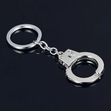 Novelty Guilty Lock Handcuffs Keyring Key Chain Key Fob - Great Gift Creative