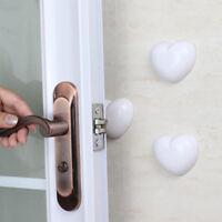 Creative Wall Protectors Self Adhesive Door Handle Bumper Guard Stop Rubber Pads