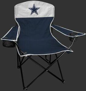 DALLAS COWBOYS LINEMAN Quad Folding Chair [NEW] NFL Travel Tailgate