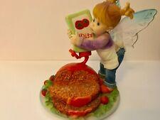 Enesco My Little Kitchen Fairies Meatloaf Fairie 2011 Fairy Figurine 4025587