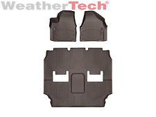 WeatherTech Floor Mats FloorLiner for Chrysler Pacifica -1st/2nd/3rd Row - Cocoa