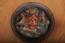 Bradford Exchange Russia Legends Plate Princess and Seven Bogatyrs 1988 Orig Box