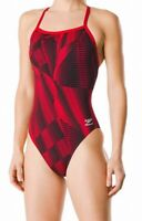 Speedo Women's Swimwear Red Size 28 Swimsuit One Piece Endurance+ $84 #724