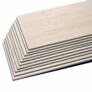 Balsabrett - Balsaholz für den Modellbau 2 mm, 3 mm, 4 mm und 5 mm Dicke