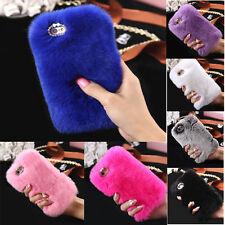 Luxury Soft Faux Fluffy Villi Fur Case Cover For iphone 7/7 Plus / 6 6s Plus LOT