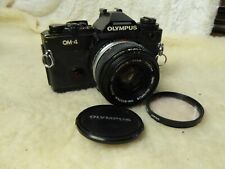 Olympus OM 4 35mm SLR Film Camera Body + 50mm lens f1.8 PLEASE READ