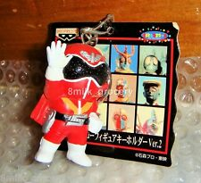 Banpresto Goranger Akaranger Keychain Super Seitai popy Mint with Tag