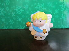 Fisher Price Little People Christmas manger nativity new shepherd set Angel star