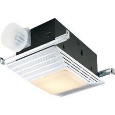Broan 659 Heater/Fan/Light, White Plastic Grille, 50 Cfm, 2.5 Sones