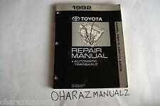 1992 TOYOTA A240L A241E A241H A243L Corolla Celica MR2 Transaxle Repair Manual