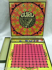 Vintage 1968 GURU Strategy Board Game Go by Lowe COMPLETE & EXCELLENT CONDITION!