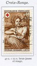 STAMP / TIMBRE FRANCE OBLITERE N° 1619 CROIX ROUGE