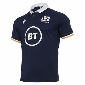 Macron Scotland Rugby Union Home Replica Shirt 20/21