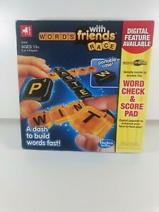 New Hasbro Zynga Words With Friends Race Game - Portable Case To Go - Age 13 +