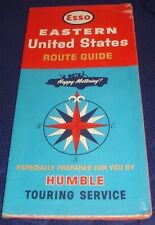 BR436 Vtg Esso Imperial Oil Co Eastern United States Road Map 1964