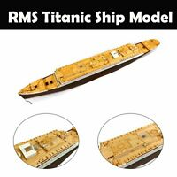 RMS Titanic Ship Model 350044 1/400 Wooden Deck For Academy Kit Scale