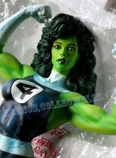 Marvel Milestones She Hulk Statue Fantastic Four Version Bowen Scale! CS Moore