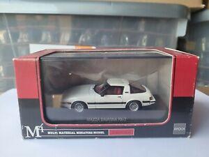 MTECH JAPAN - MAZDA RX7 SAVANNA [WHITE] VHTF MINT BOX GOOD *COMBINED POST*