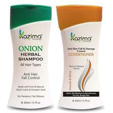 KAZIMA ONION HERBAL Shampoo 200ML + Anti Hair fall & Damage Control Conditioner
