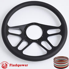 14'' billet Black steering wheels restoration Chrysler Town & Country Cordoba
