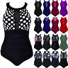 Plus Size Women One Piece Bikini Swimsuit Swimwear Push Up Bathing Suit Monokini