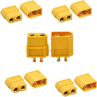 Female with Insulating Caps 30A-60A R 5 5 Amass MR60 ESC Connector 5 Pair Male