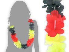 Hawaiikette Deutschland schwarz rot gelb Blumenketten Hawaii Hk-16