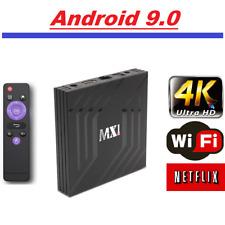 Android 9.0 Smart Tv Box 4K Ultra HD Media Player Wifi Quad Core MXQ Netflix