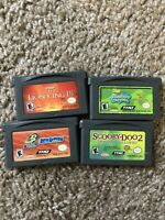 LOT of 4 Game Boy Advance GBA Games - Carts ONLY - USED - GOOD